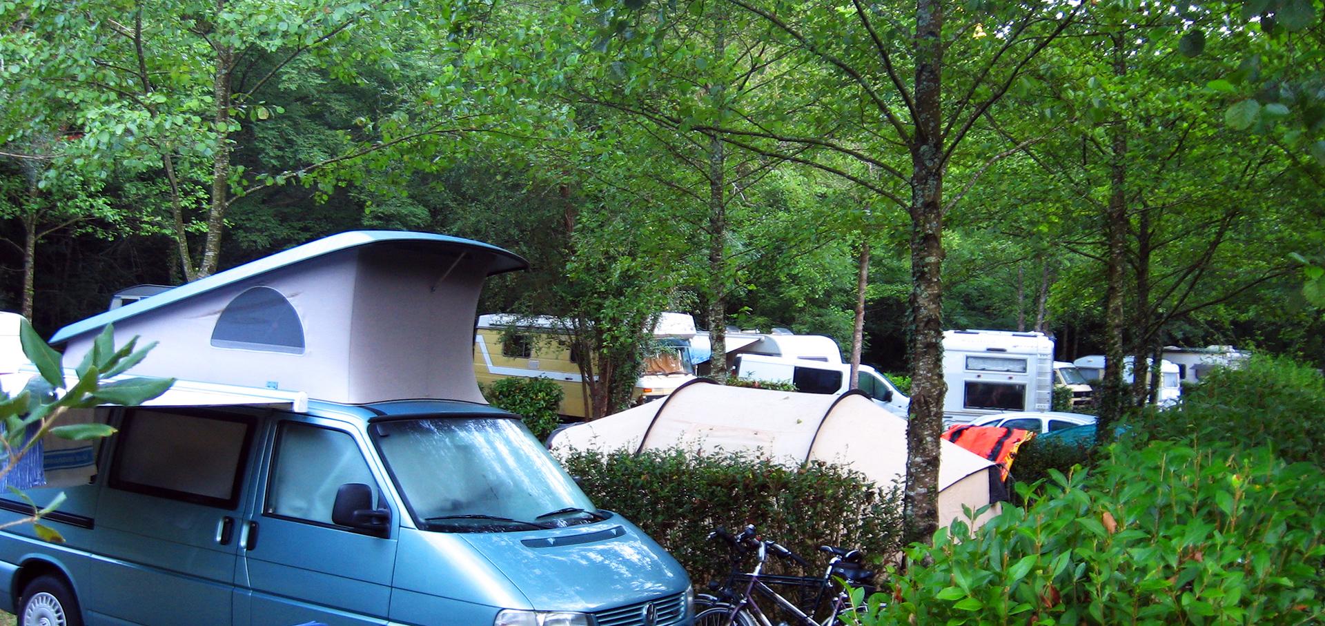 Erreserbak, Camping Zingira en Orio-Aia